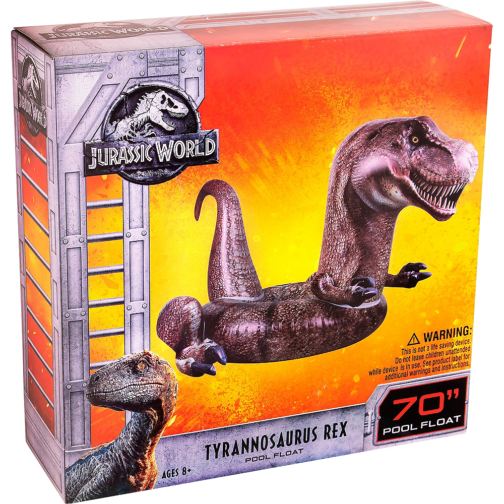 T-Rex Pool Float - Jurassic World: Fallen Kingdom Image #3