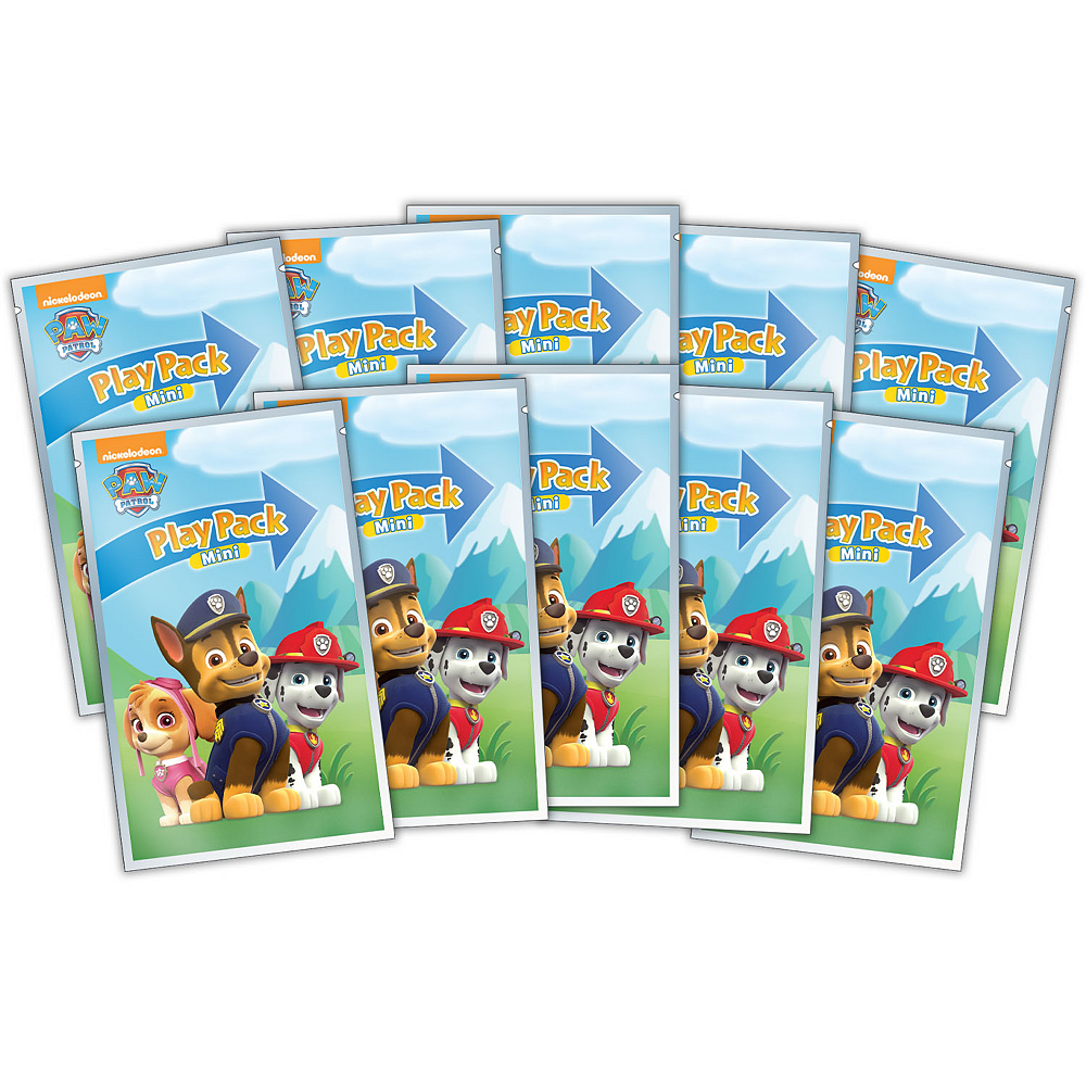 PAW Patrol Mini Play Packs, 10ct Image #1