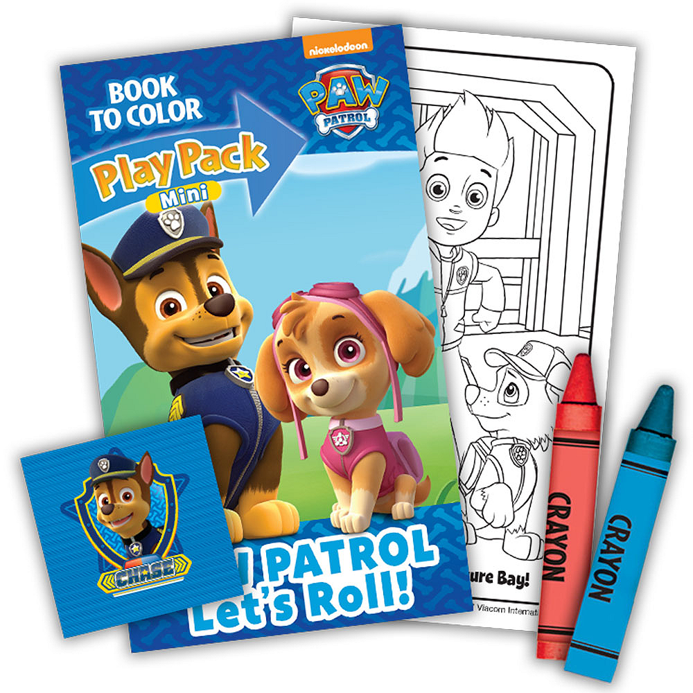PAW Patrol Mini Play Packs, 10ct Image #2