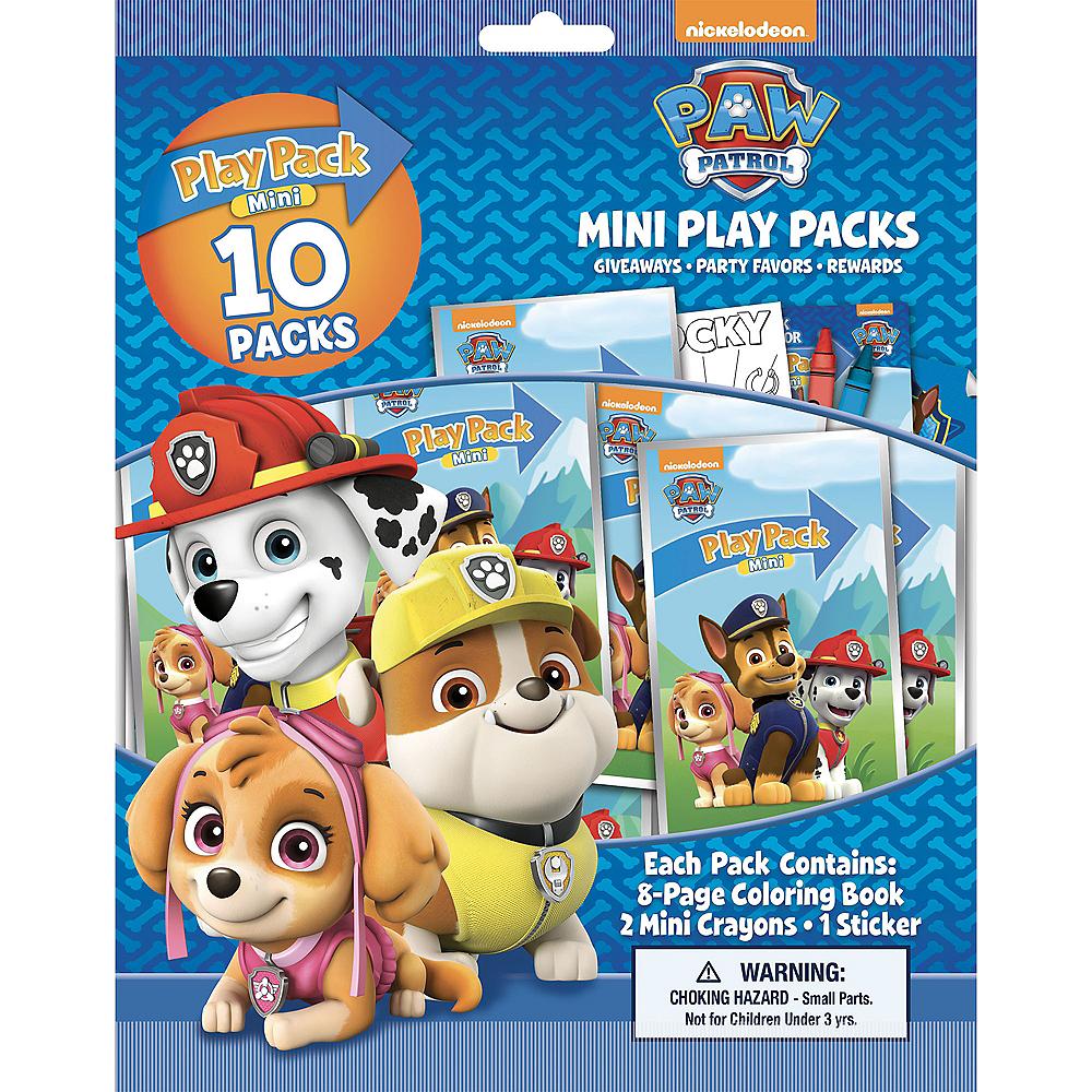 PAW Patrol Mini Play Packs, 10ct Image #3