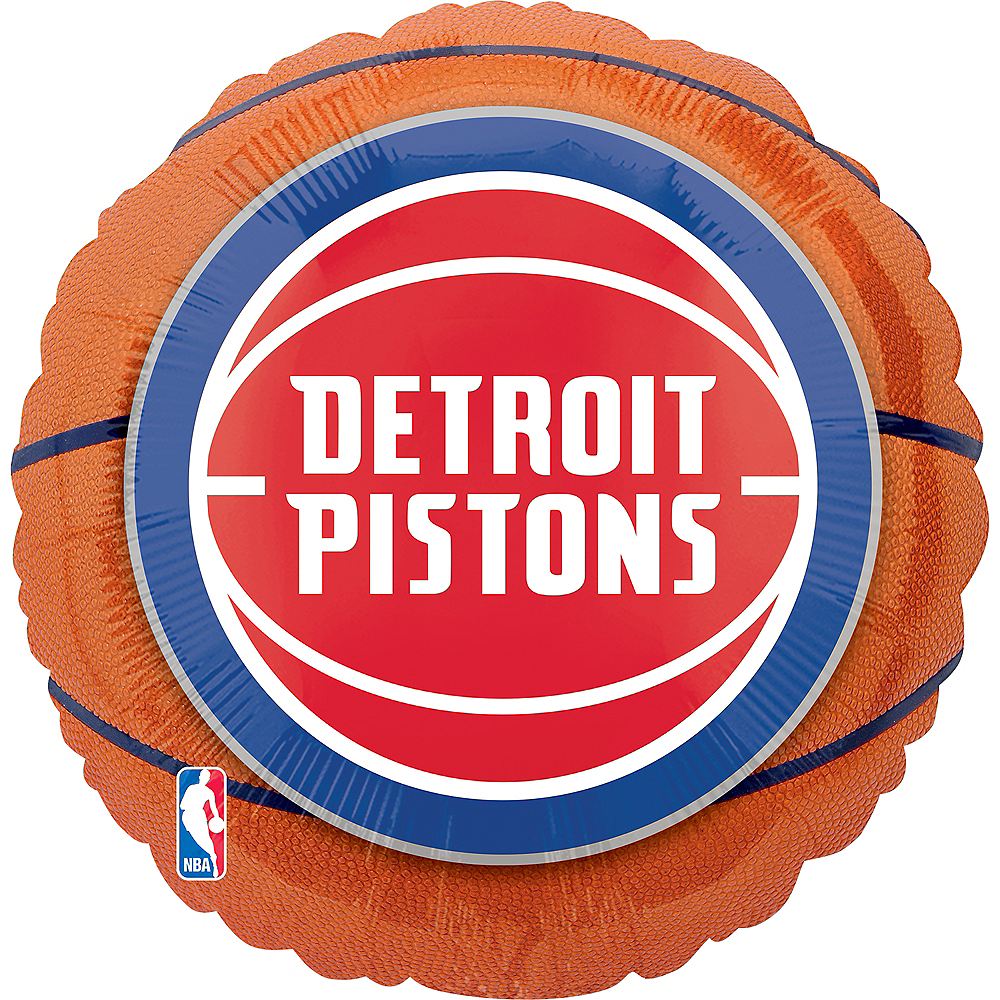 Detroit Pistons Balloon - Basketball Image #1