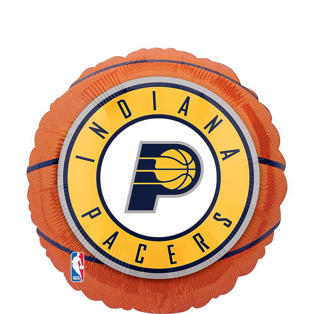 Indiana Pacers Basketball Balloon, 17in Image #1