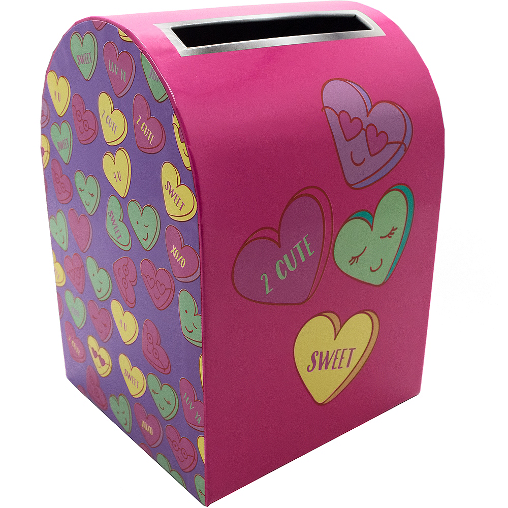 Nav Item for Conversation Heart Valentine Mailbox Image #1