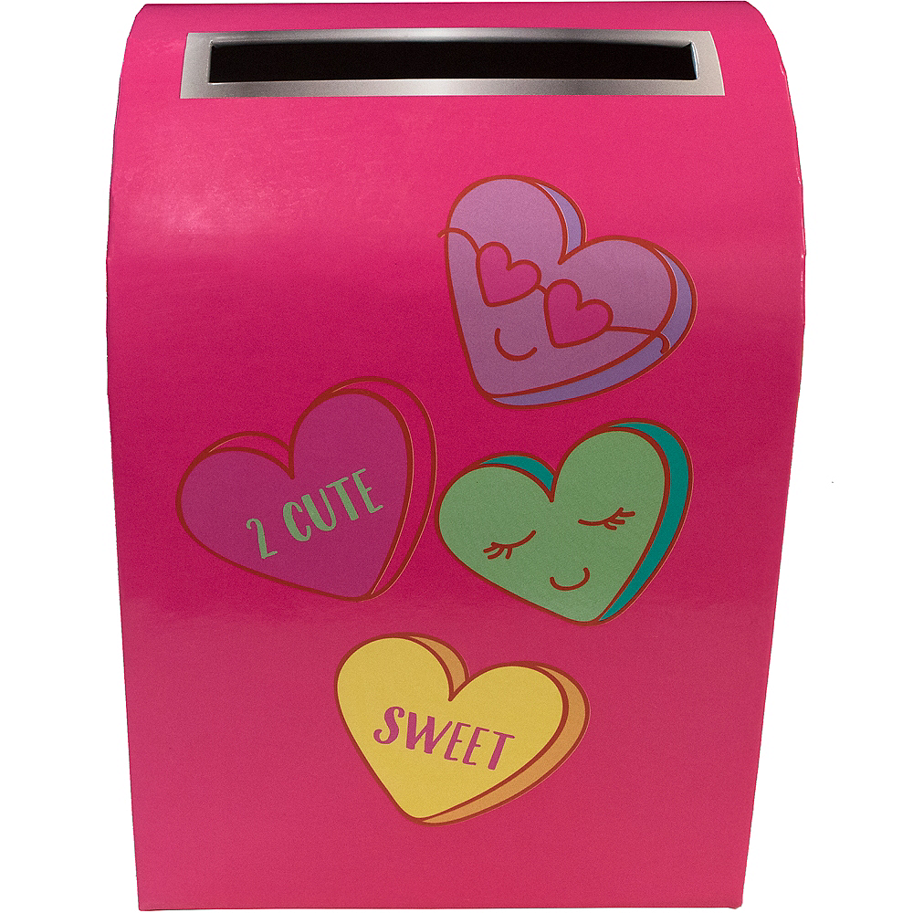Nav Item for Conversation Heart Valentine Mailbox Image #2
