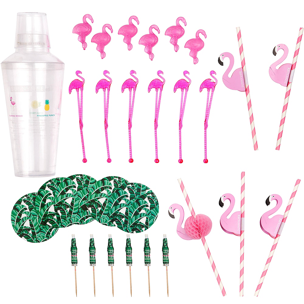 Tropical Flamingo Cocktail Kit Image #1