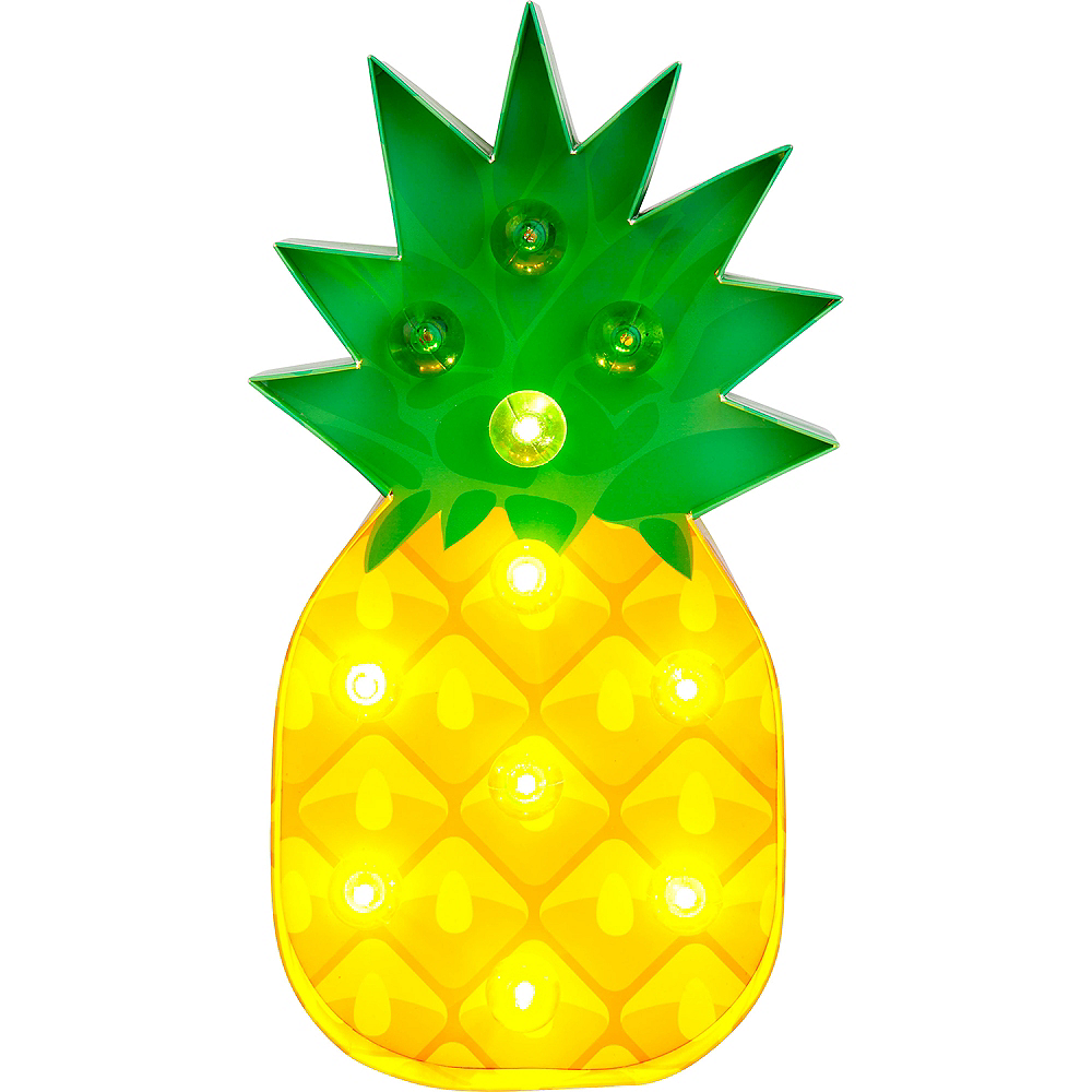 Light-Up Pineapple Marquee Sign Image #2