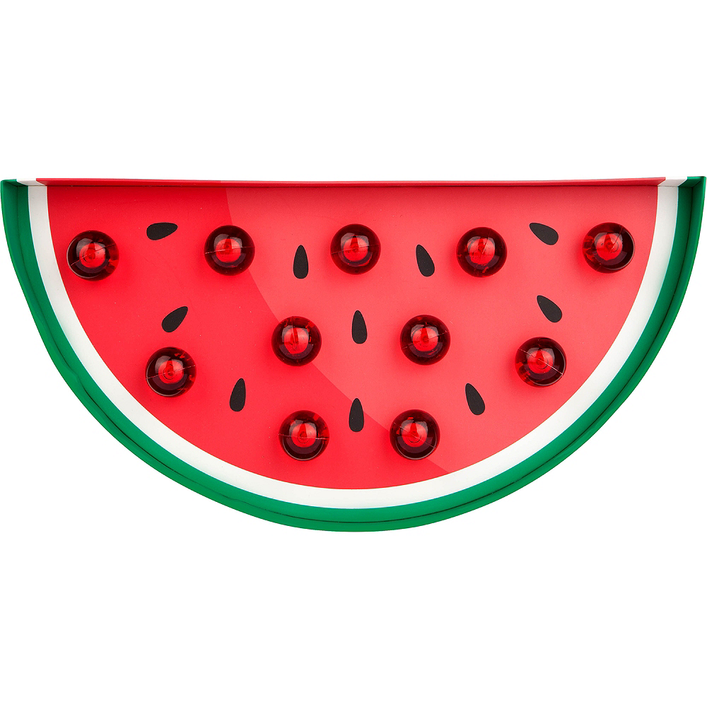 Light-Up Watermelon Marquee Sign Image #1