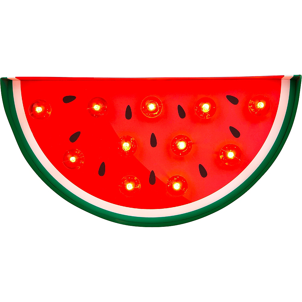 Light-Up Watermelon Marquee Sign Image #2