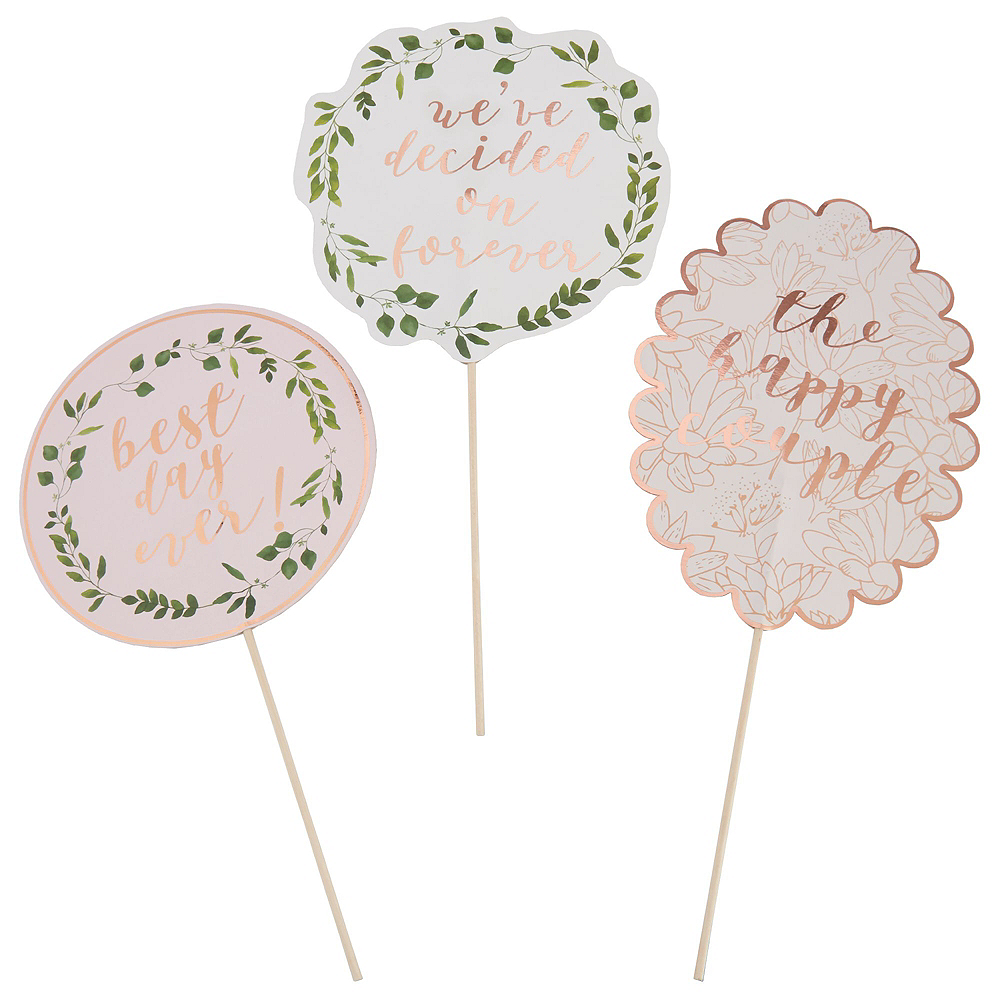 Rose Gold Wedding Party Kit for 32 Guests Image #8