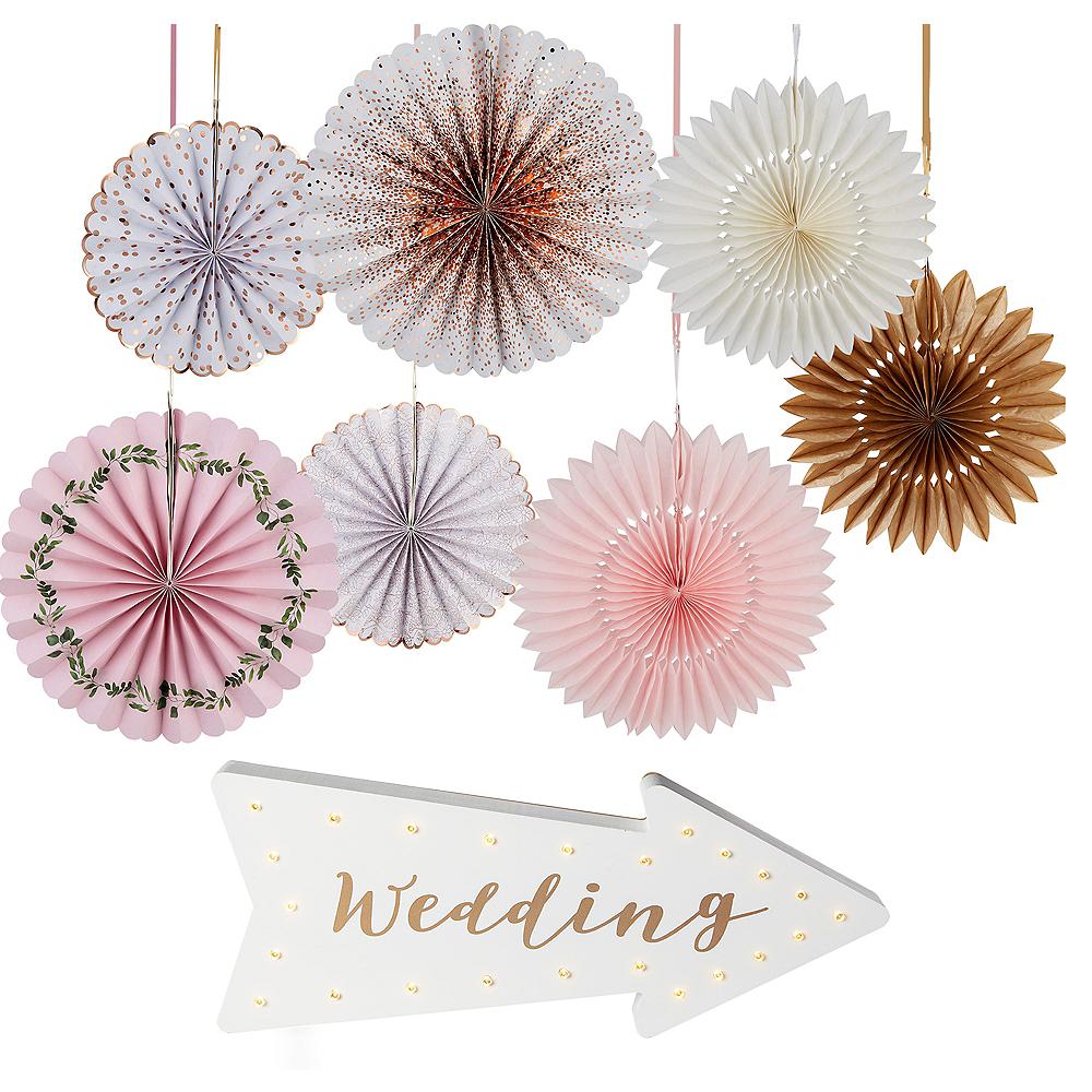 Rose Gold Wedding Decorating Kit Image #1