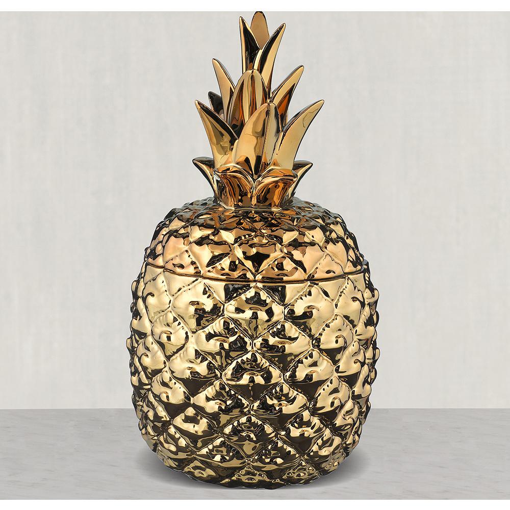 Gold Pineapple Jars 3ct Image #1