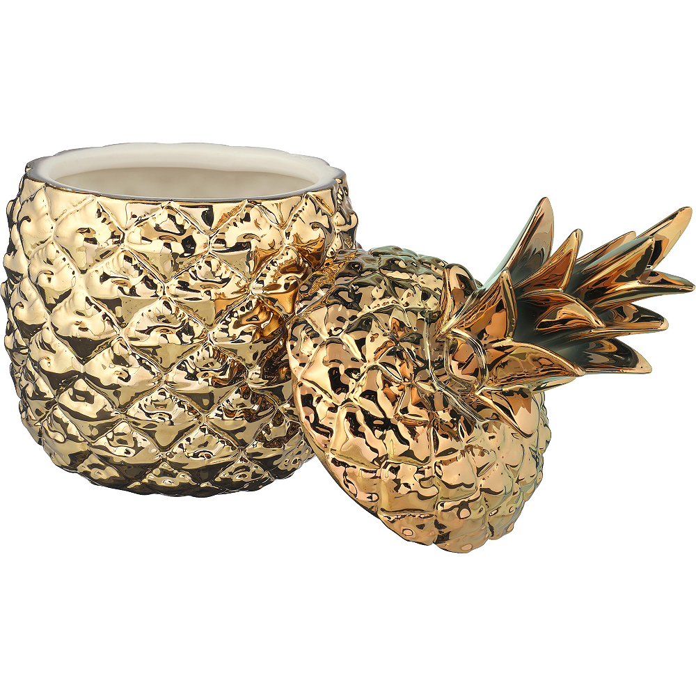 Gold Pineapple Jars 3ct Image #2
