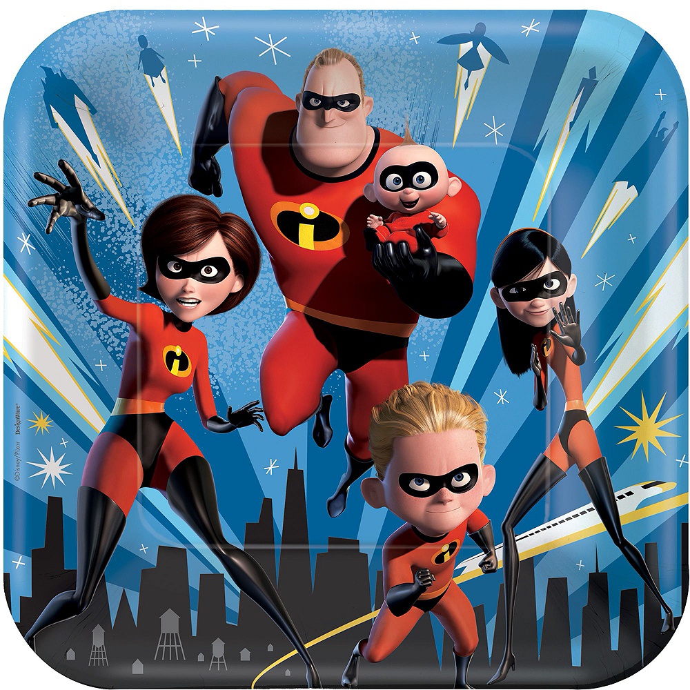 Ultimate Incredibles 2 Party Kit for 16 Guests Image #3