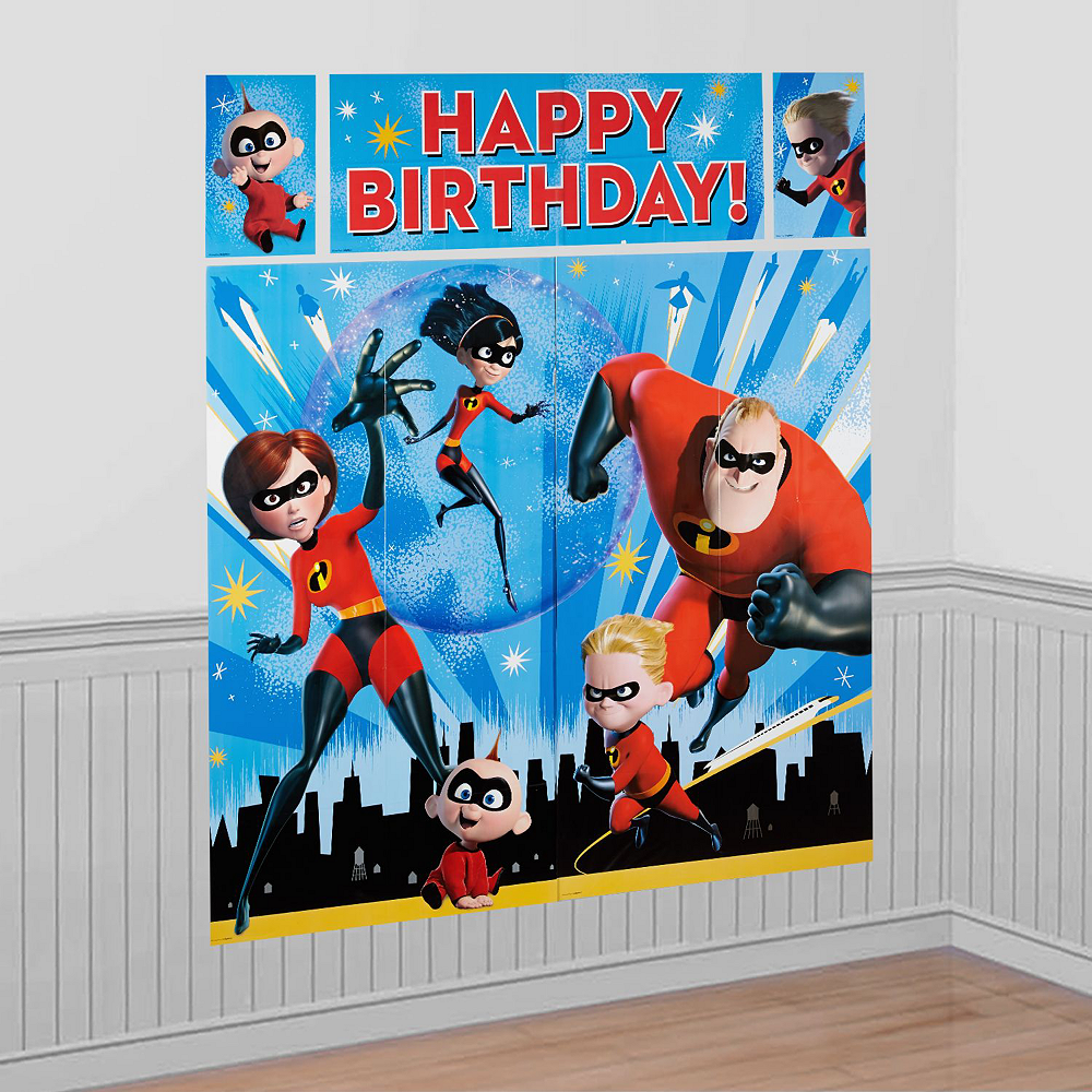 Ultimate Incredibles 2 Party Kit for 16 Guests Image #17