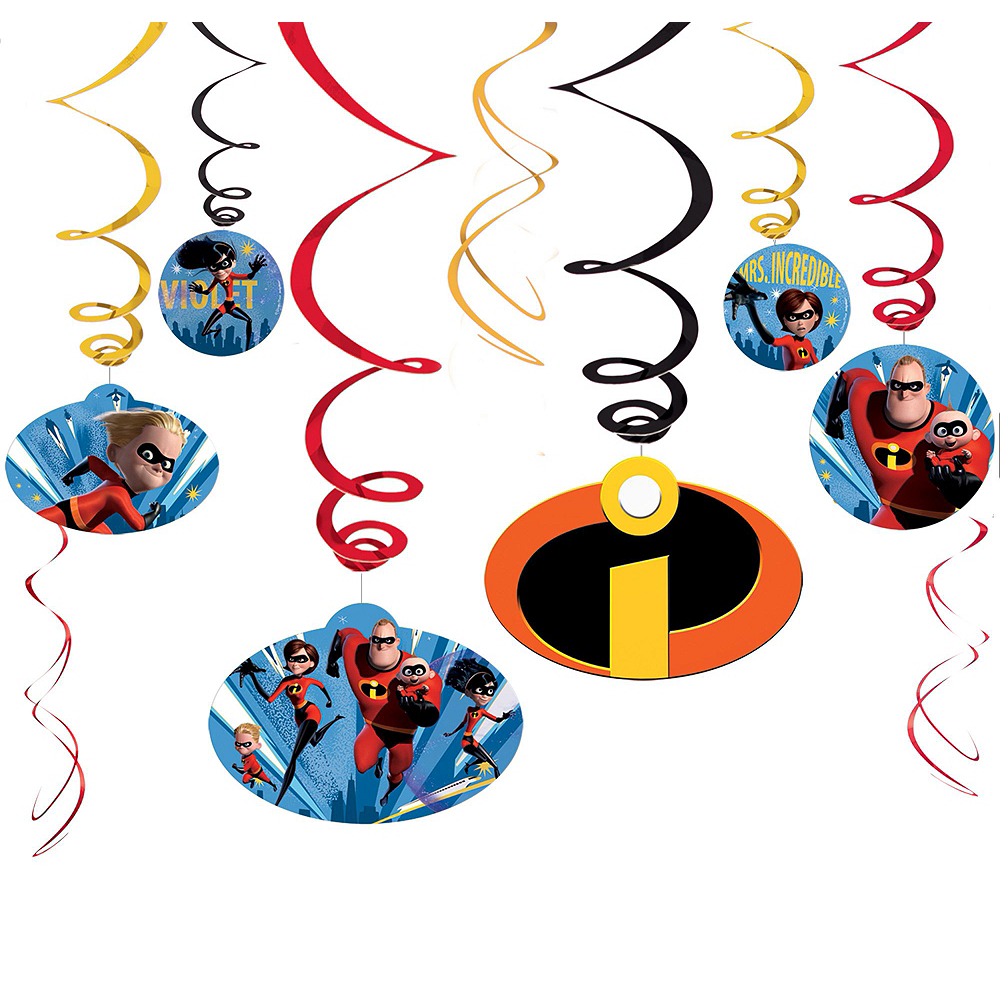 Ultimate Incredibles 2 Party Kit for 24 Guests Image #11