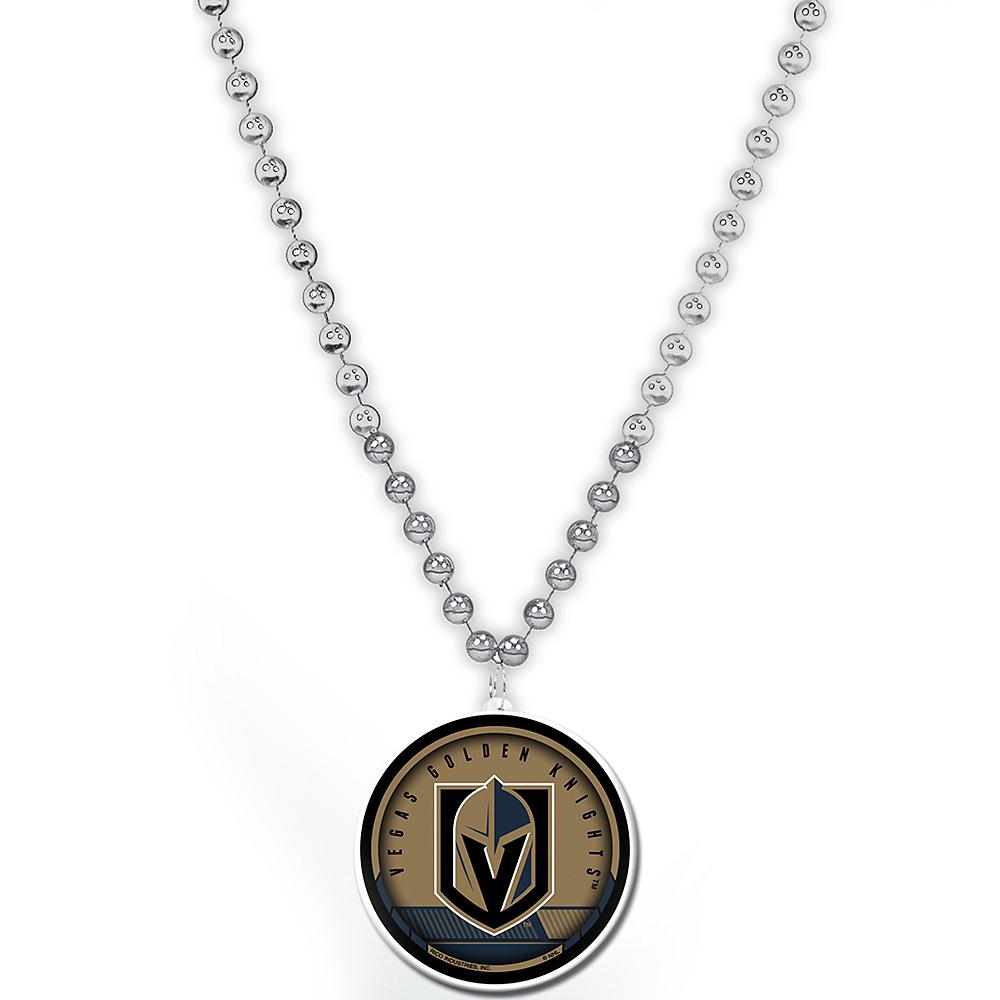 Vegas Golden Knights Pendant Bead Necklace Image #1