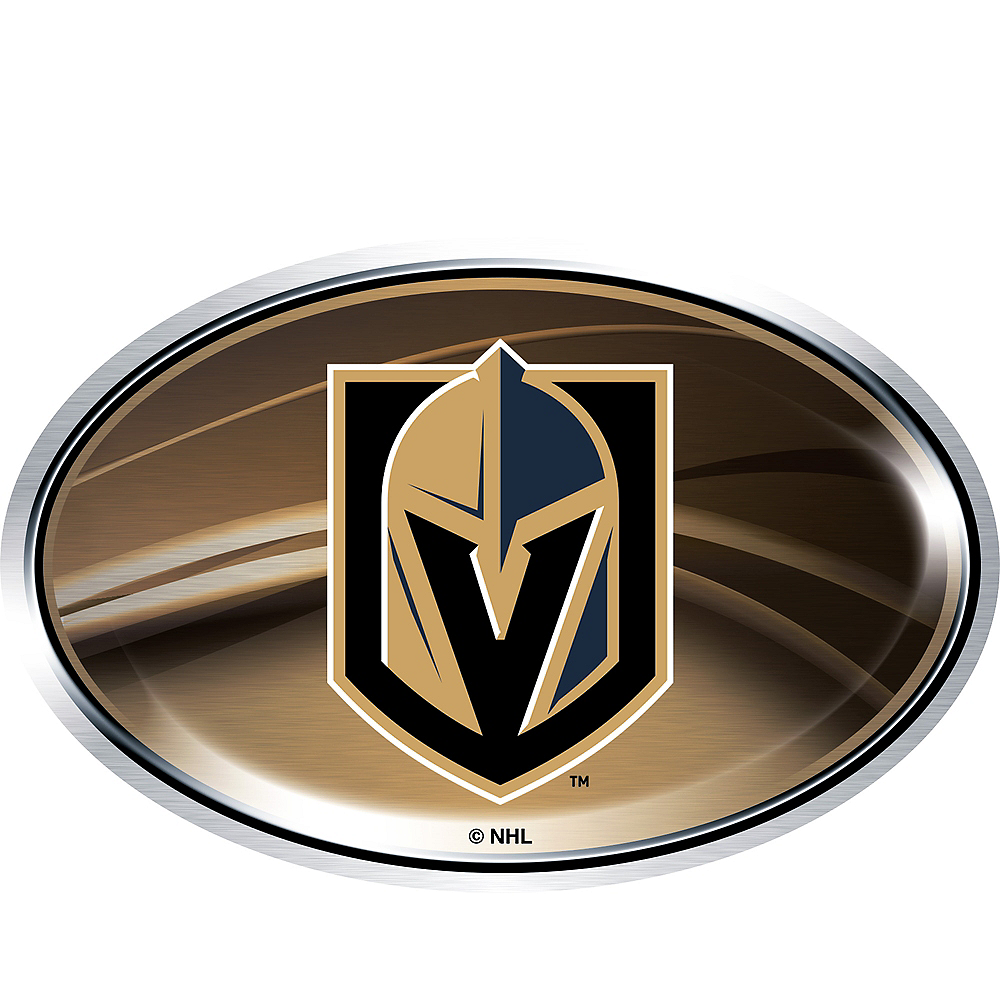 Vegas Golden Knights Cling Decal Image #1