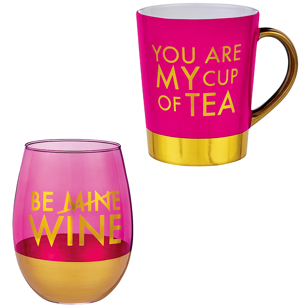 Valentine's Day Cup Set 2ct Image #1