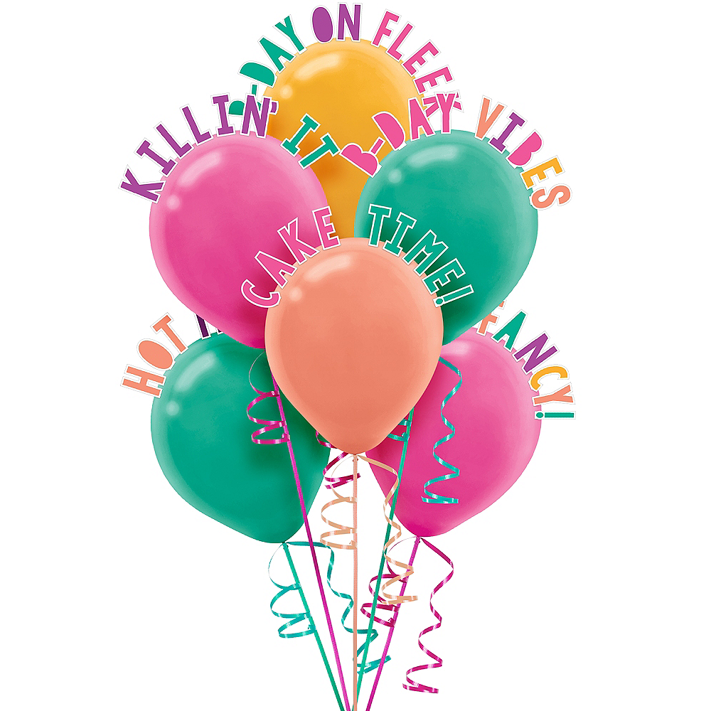Young & Fab Balloon Decorating Kit 60pc Image #1