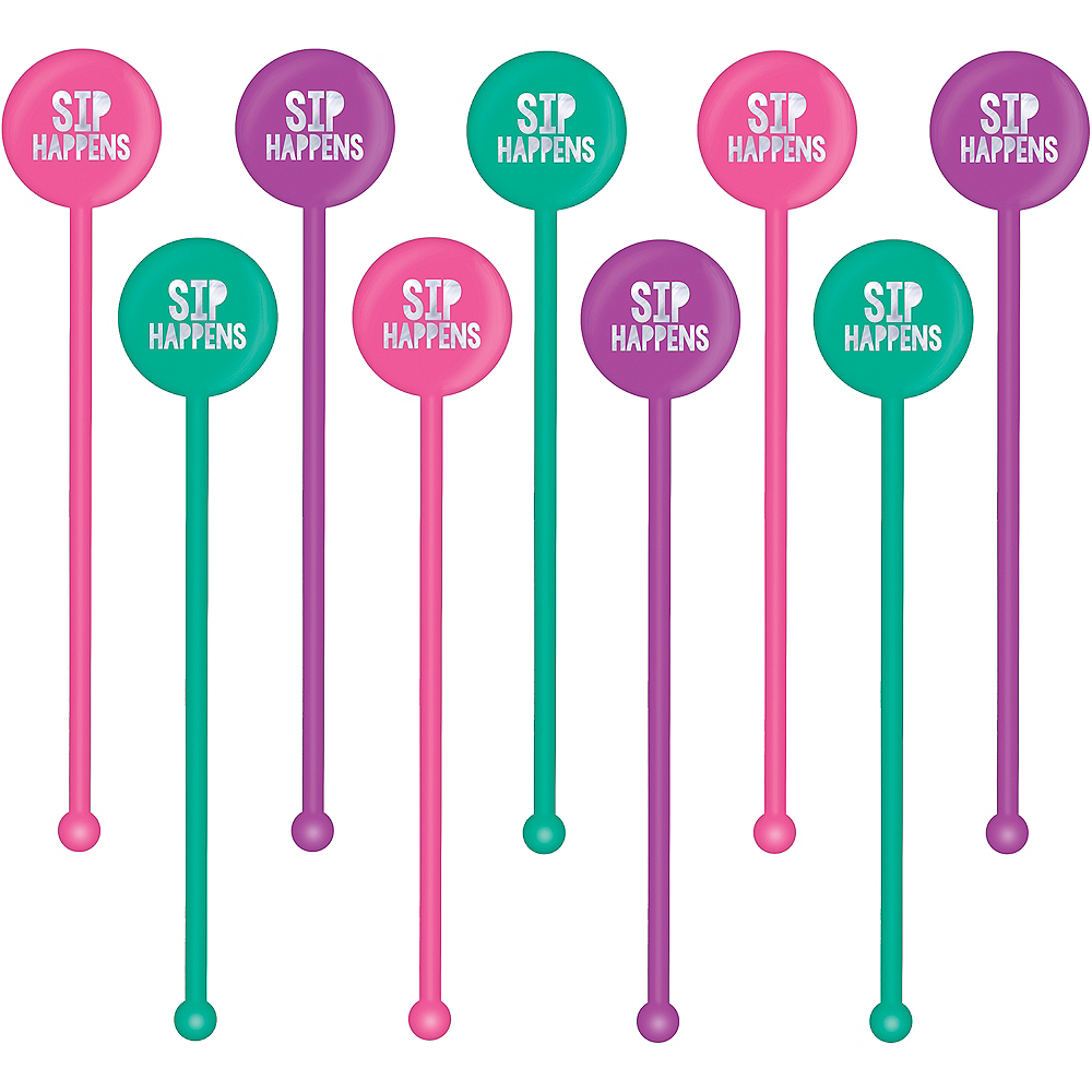 Young & Fab Drink Stirrers 18ct Image #1