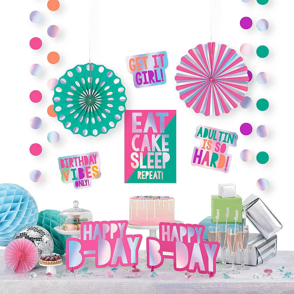Young & Fab Room Decorating Kit 12pc Image #1