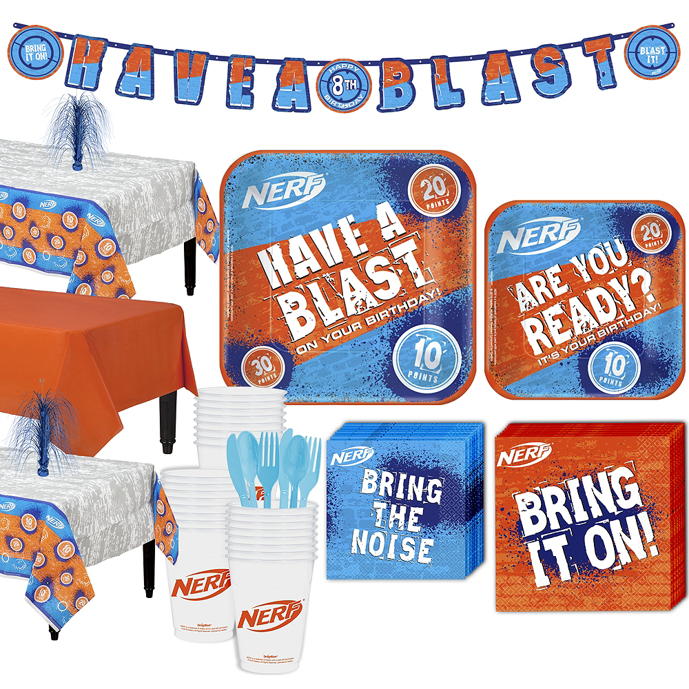 Nerf Party Kit for 24 Guests Image #1