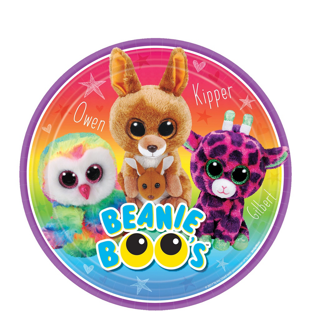 Beanie Boo's Party Kit for 8 Guests Image #2