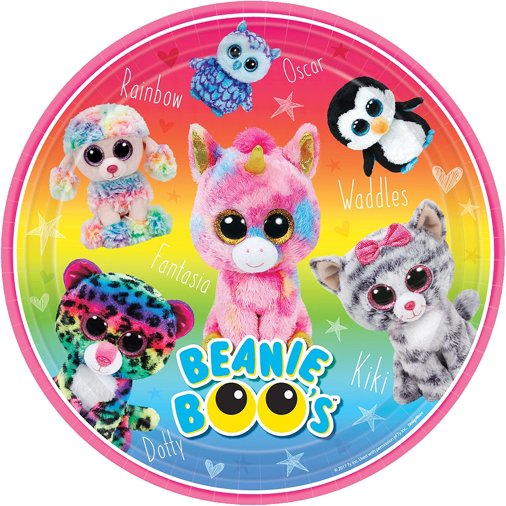 Beanie Boo's Party Kit for 8 Guests Image #3
