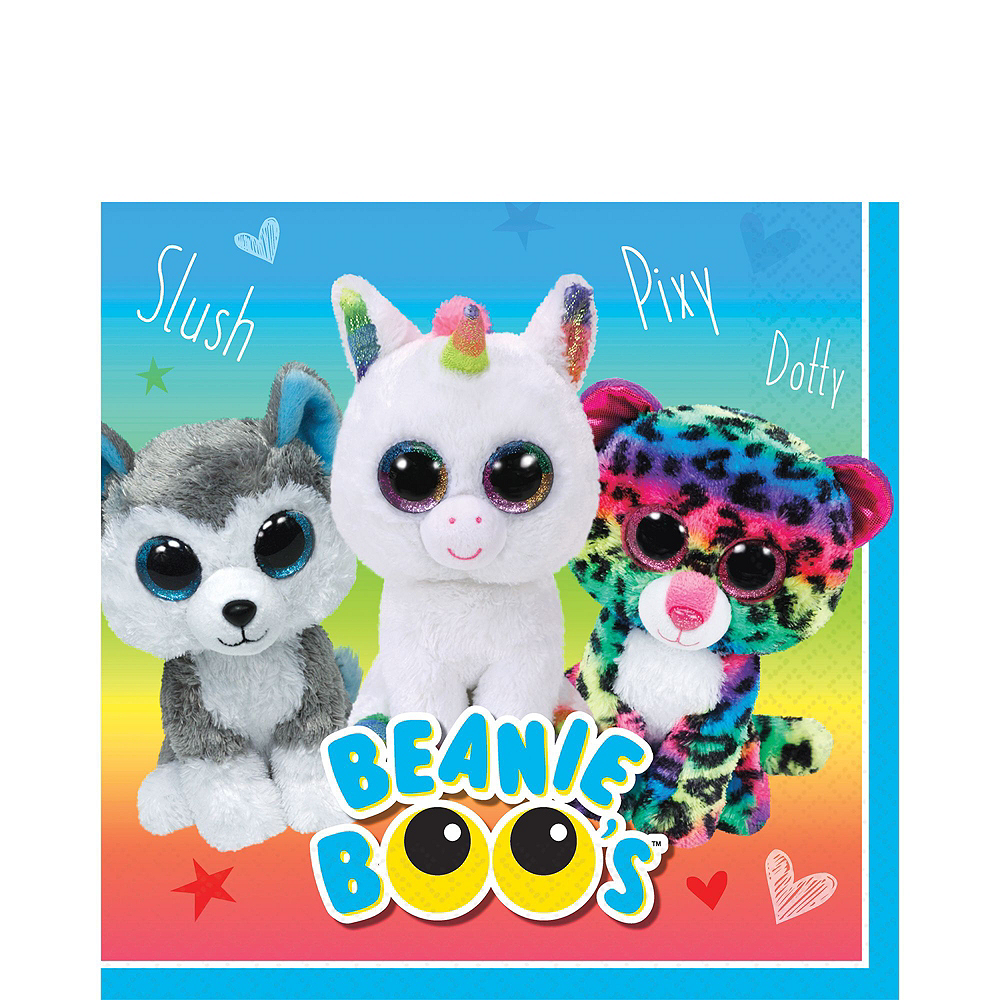 Beanie Boo's Party Kit for 8 Guests Image #5