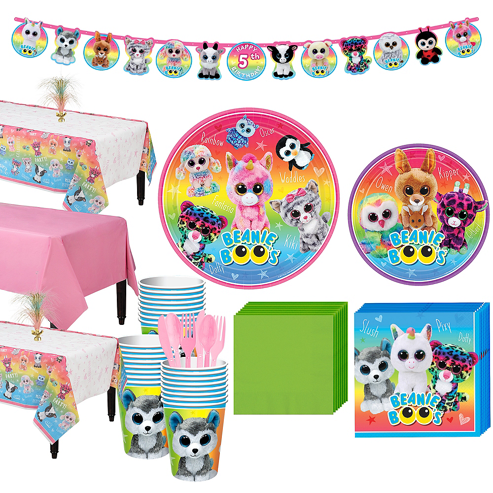 Beanie Boo's Party Kit for 24 Guests Image #1