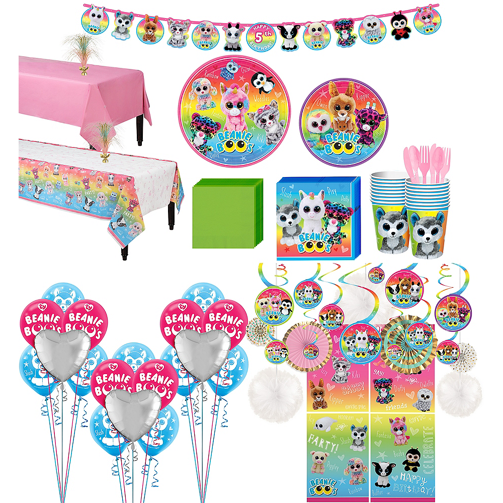 Ultimate Beanie Boo's Party Kit for 16 Guests Image #1