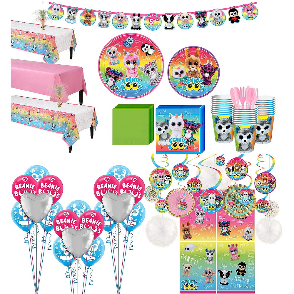 Ultimate Beanie Boo's Party Kit for 24 Guests Image #1