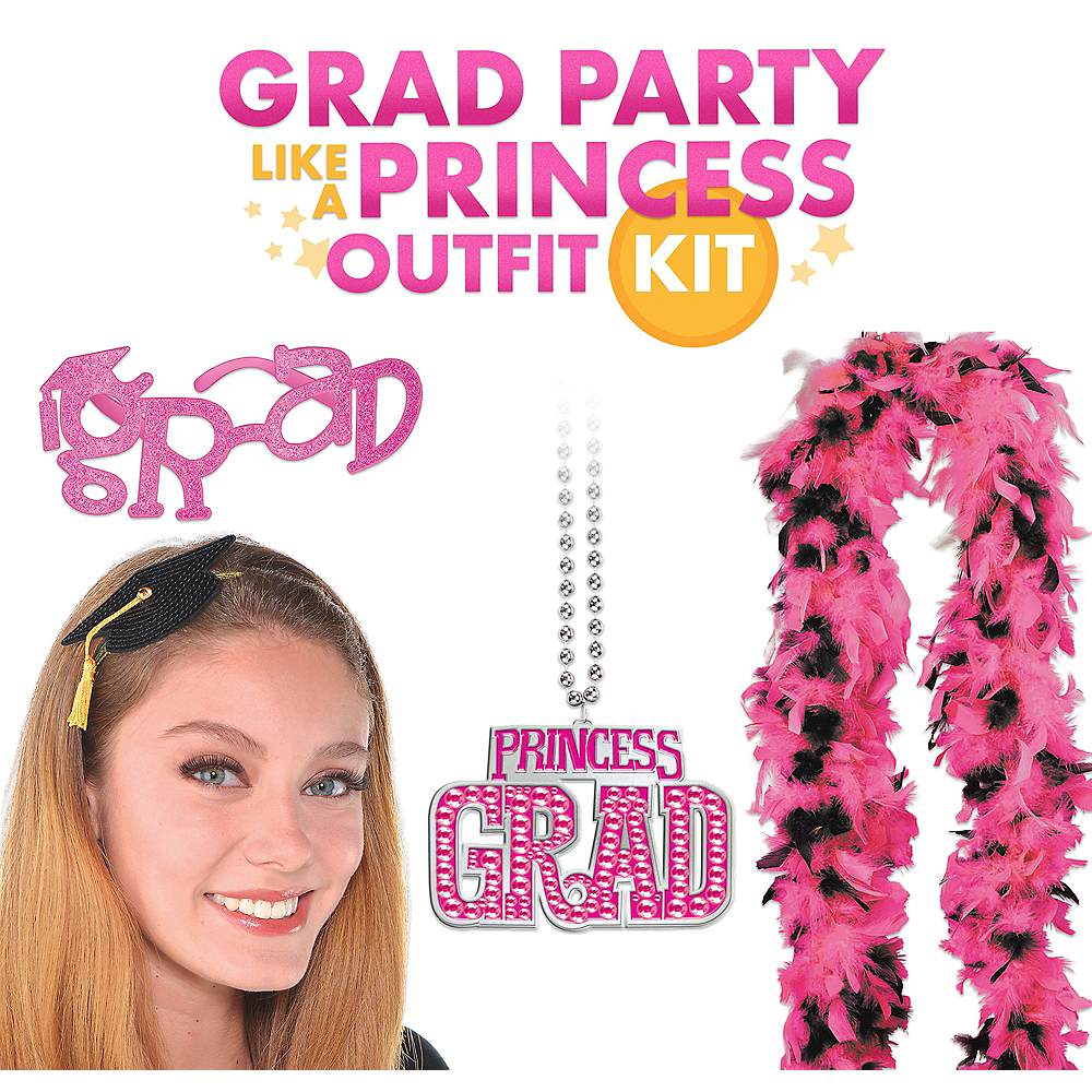 Grad Party like a Princess Outfit Kit Image #1