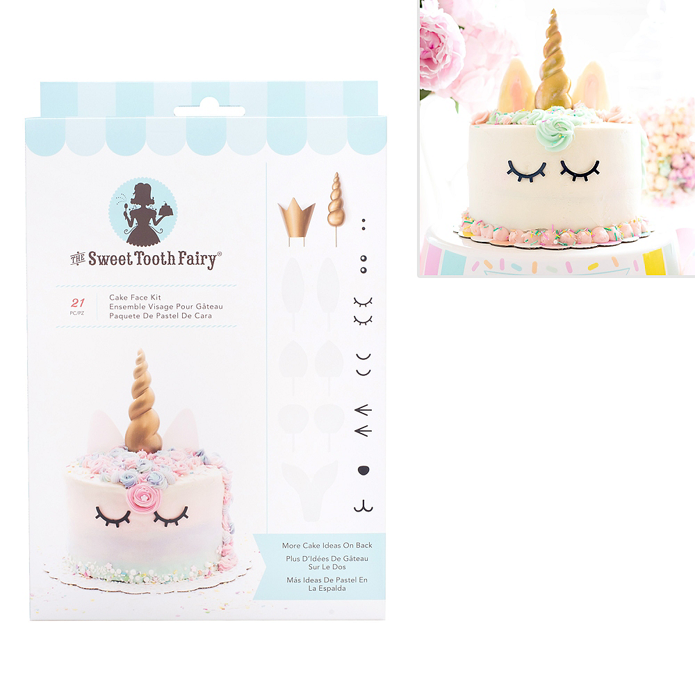 Sweet Tooth Fairy Cake Face Kit 21pc Image #1