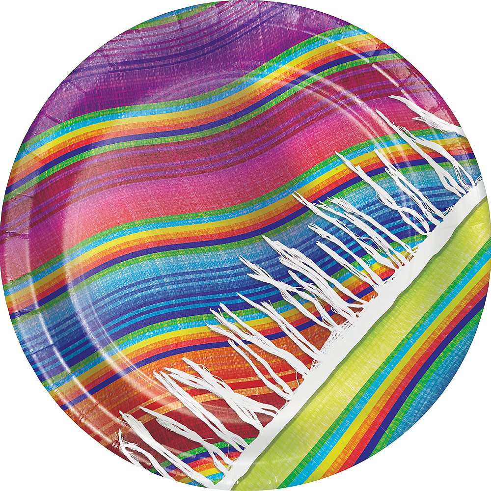 Nav Item for Serape Lunch Plates 8ct Image #1