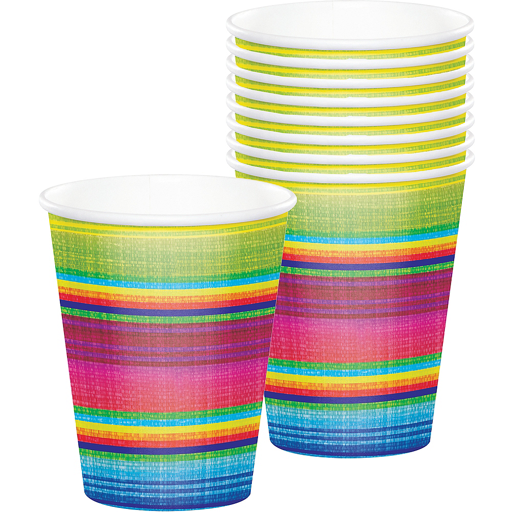 Serape Cups 8ct Image #1