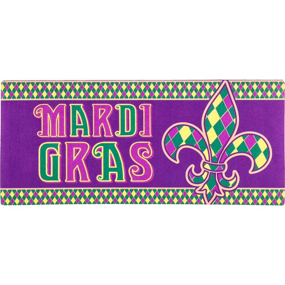 Mardi Gras Doormat Image #1