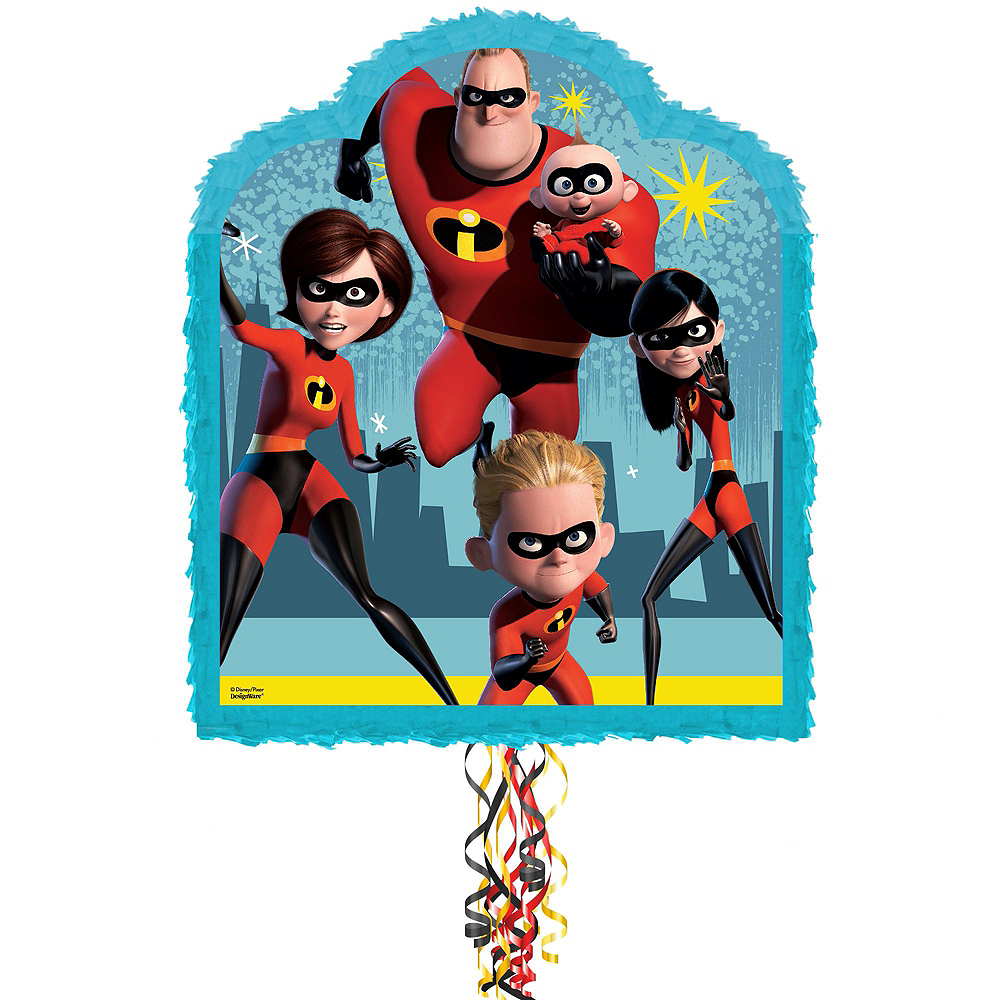 Incredibles 2 Pinata Kit with Candy & Favors Image #2