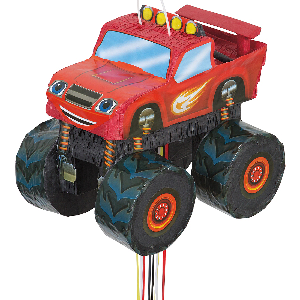 Pull String Blaze and the Monster Machines Truck Pinata Image #1