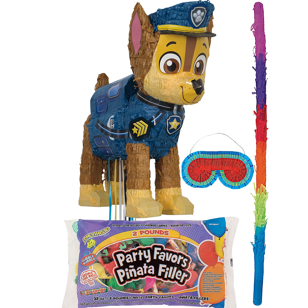 Chase Pinata Kit with Candy & Favors - PAW Patrol Image #1