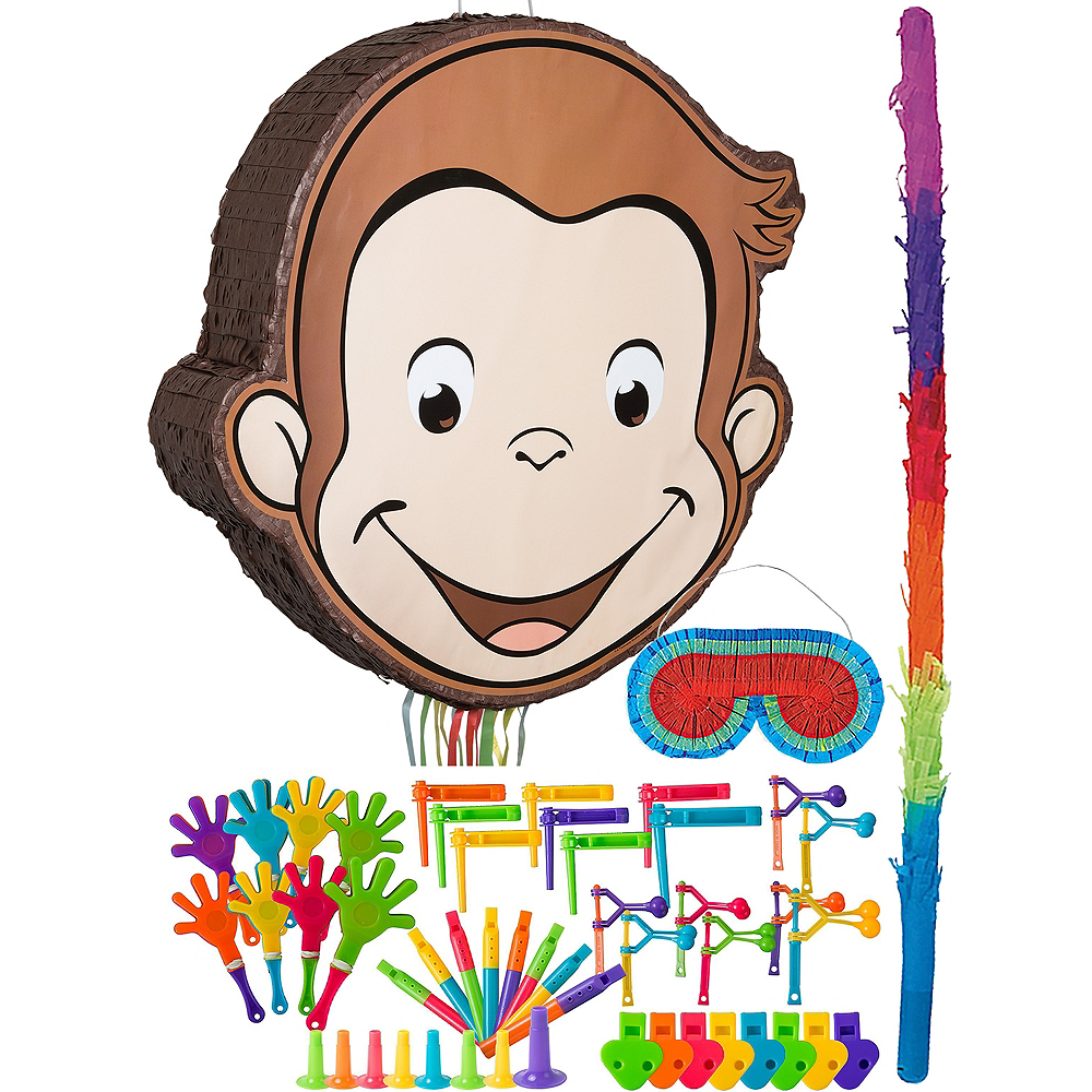 Curious George Pinata Kit with Favors Image #1