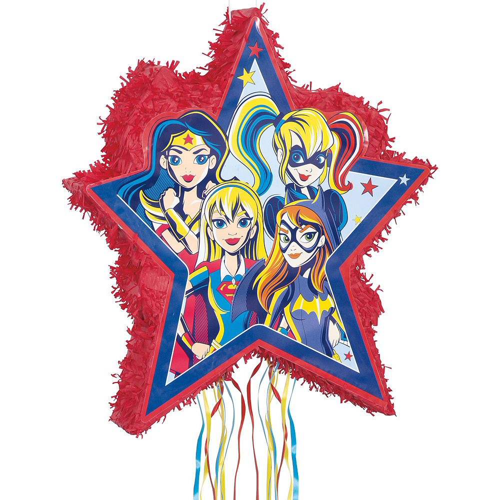 Super Hero Girls Pinata Kit with Favors Image #2
