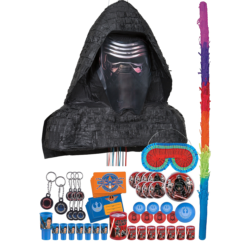 Kylo Ren Pinata Kit with Favors - Star Wars 7 The Force Awakens Image #1