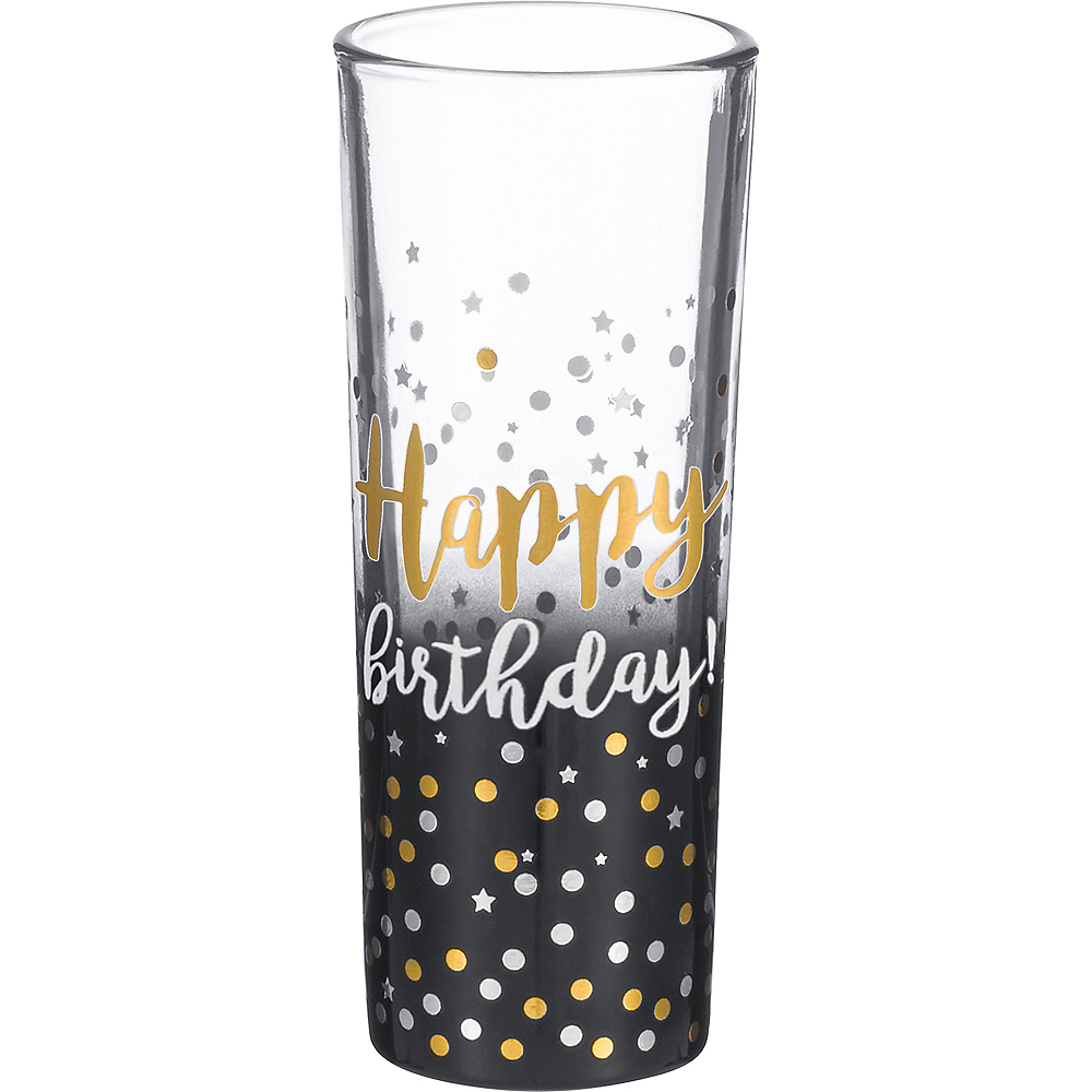 Happy Birthday Shot Glass Image #1