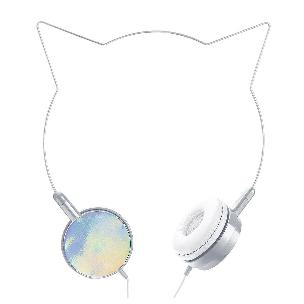 Kitty Cat Ear Headphones Image #1