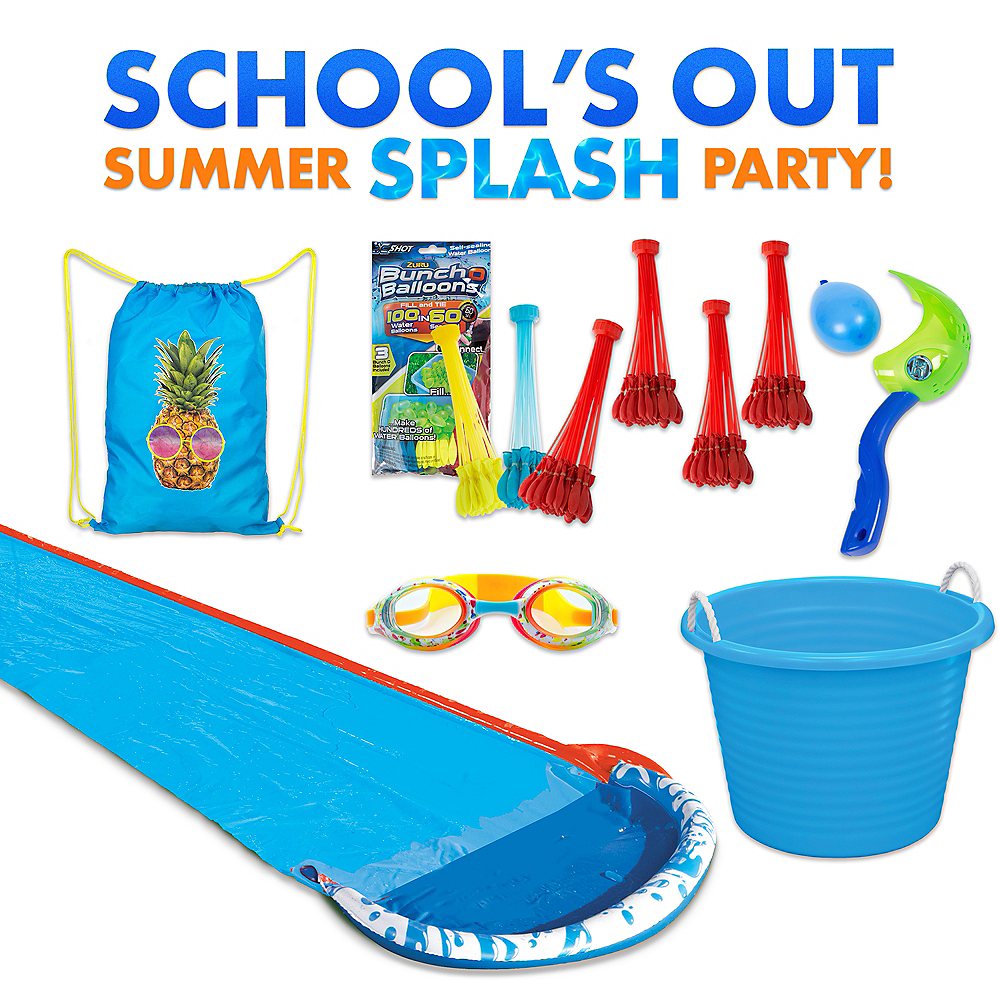Summer Splash Water Slide Party Kit Image #1