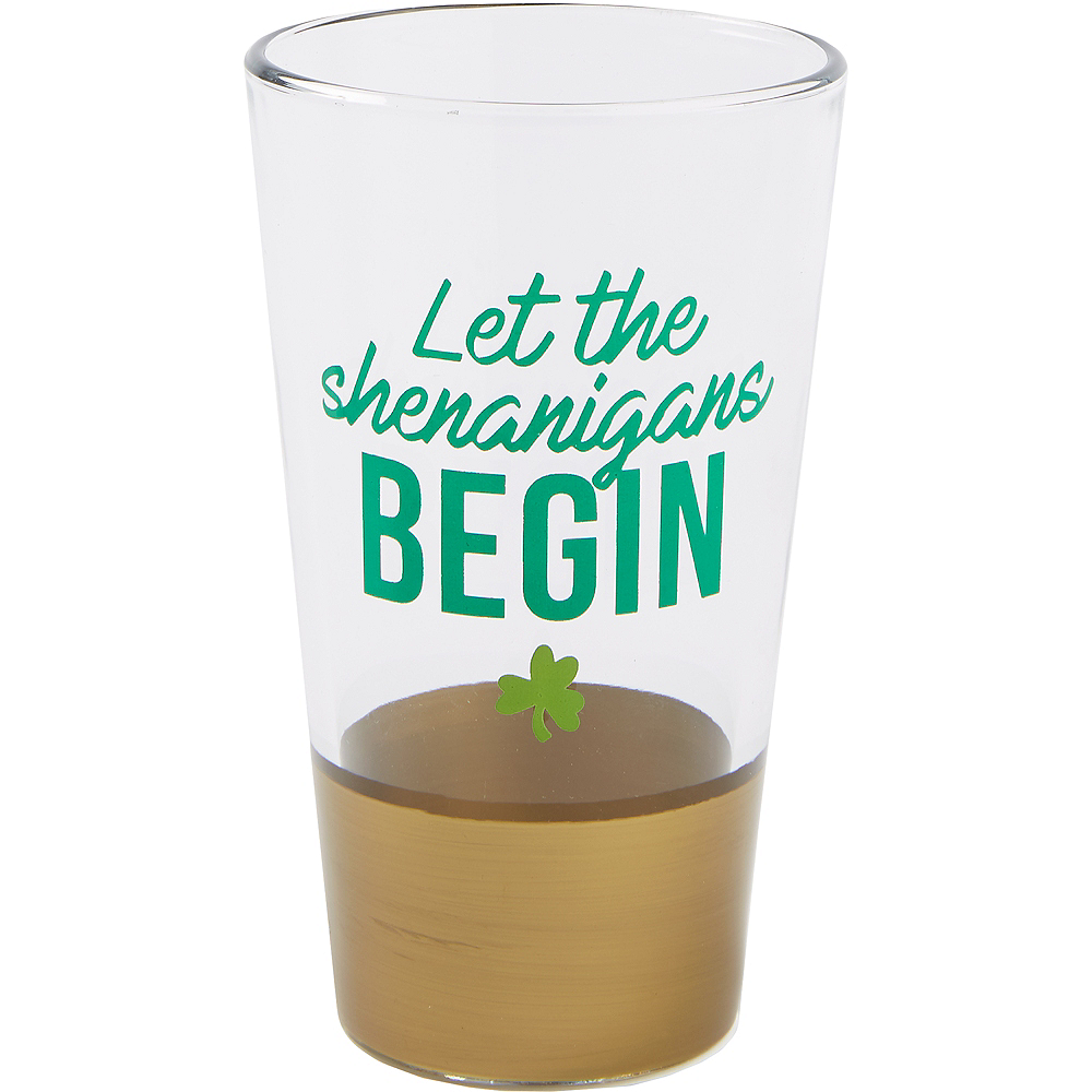 Let the Shenanigans Begin Pint Glass Image #1