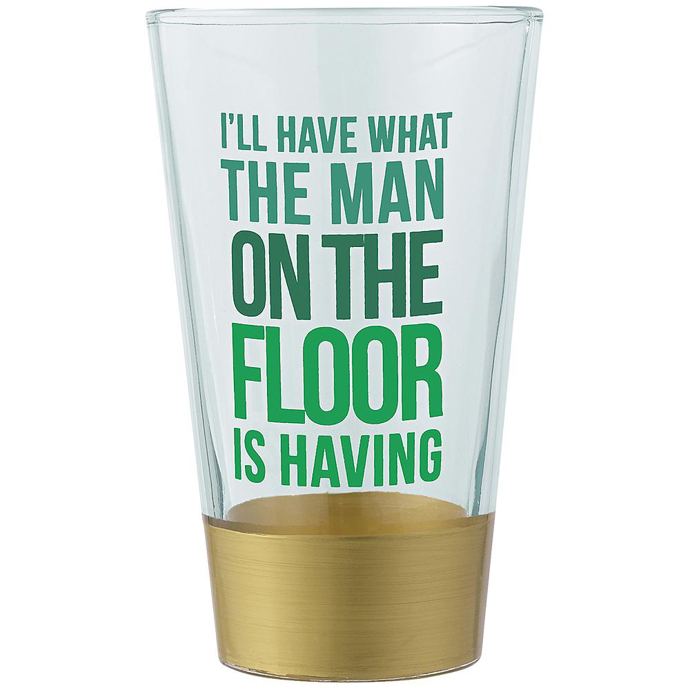 Bottoms Up Pint Glass Image #1