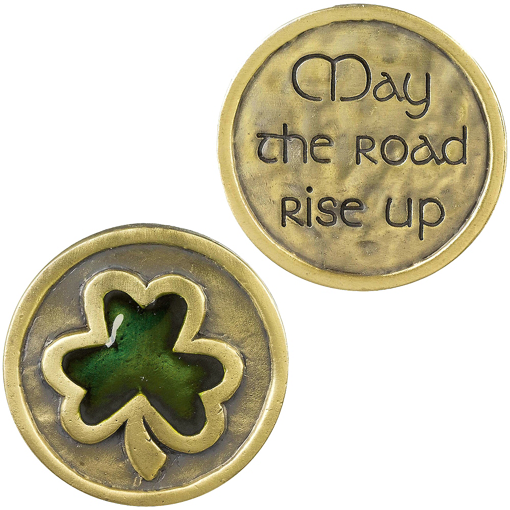 May the Road Rise Up Pocket Coin Image #1
