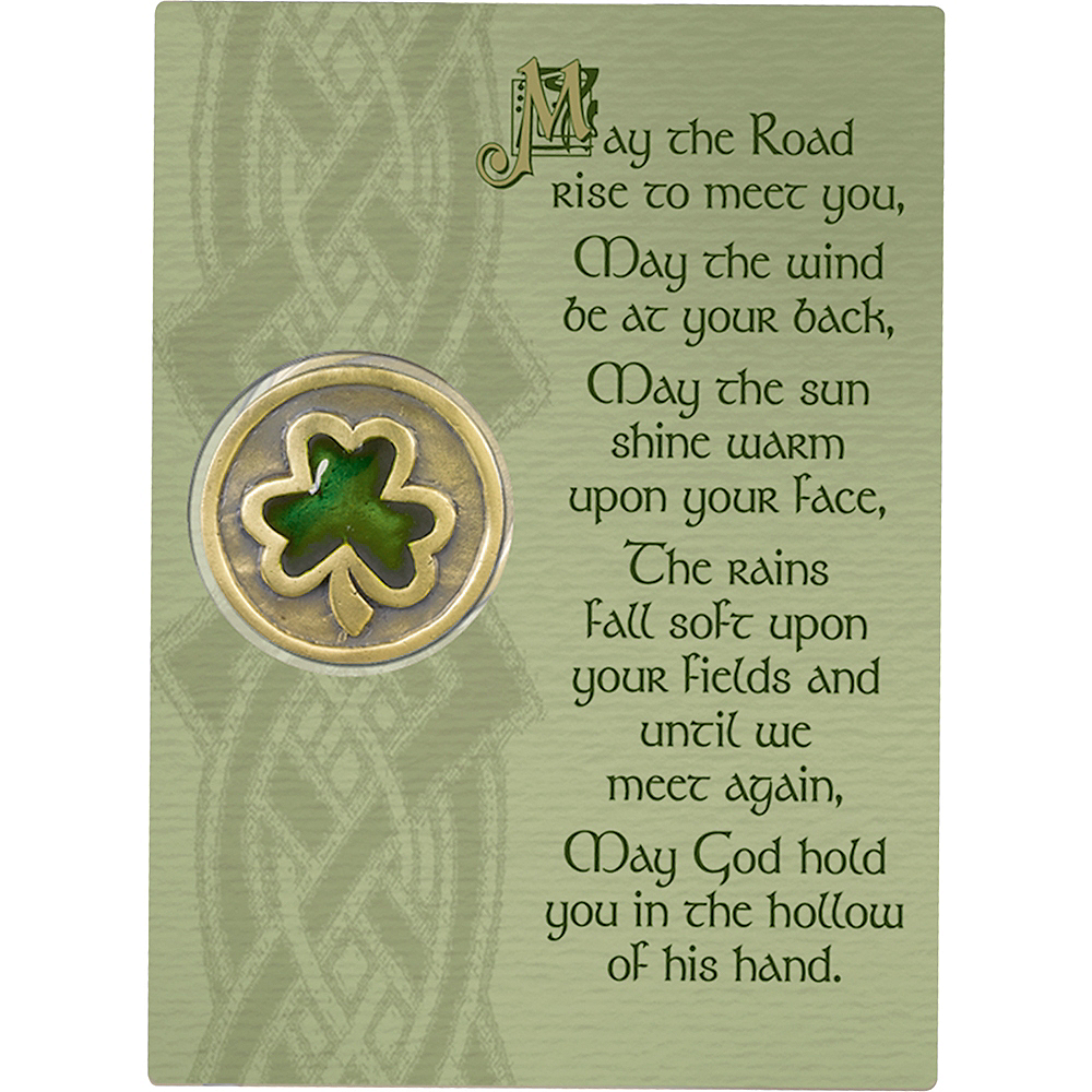 May the Road Rise Up Pocket Coin Image #2